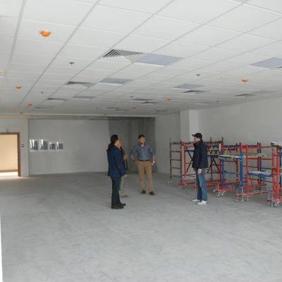 Ремонт помещений бизнес-центра